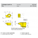 OUTILS HORN FILETAGE ISO + TRAPEZOIDALE INTÉRIEUR TYPE 114